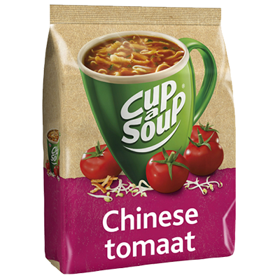 Cup-a-Soup vending Chinese tomaat