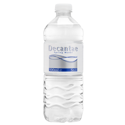 Decantae waterflesjes 500 ml