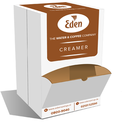 Edenissimo creamersticks met dispenser doos