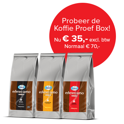 Edenissimo proefbox instant koffie