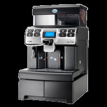 Kaffeevollautomat mit bohnen Saeco Aulika Kaffeemaschine Büro