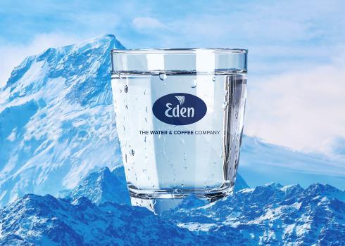 Kwaliteitswater van Eden Springs