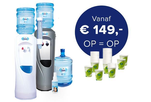 Waterkoeler Starter Package vanaf € 149,-