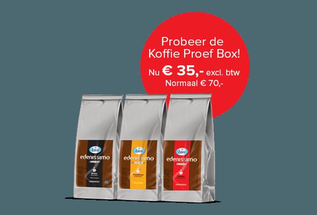 Edenissimo koffieproducten voor slechts € 35,-